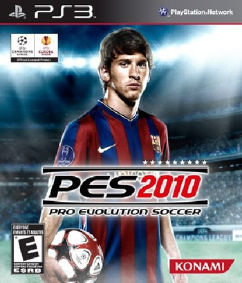 Pro Evolution Soccer 2010 PS3 coverM (BLUS30404)