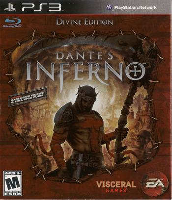 Dante's Inferno (Divine Edition) PS3 coverM (BLUS30405)
