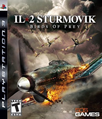 IL-2 Sturmovik: Birds of Prey PS3 coverM (BLUS30424)