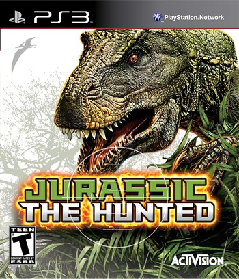 Jurassic: The Hunted PS3 coverM (BLUS30435)
