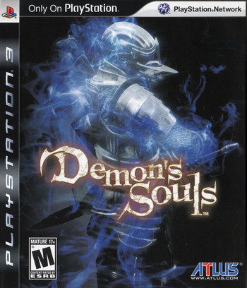 Demon's Souls PS3 coverM (BLUS30443)