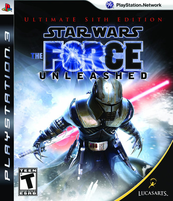 Star Wars: The Force Unleashed (Ultimate Sith Edition) PS3 coverM (BLUS30445)