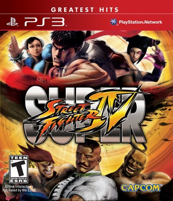 Super Street Fighter IV PS3 coverM (BLUS30453)