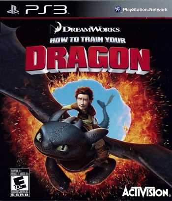 How to Train Your Dragon PS3 coverM (BLUS30461)