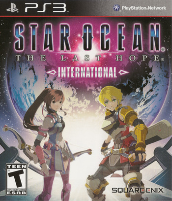 Star Ocean: The Last Hope - International PS3 coverM (BLUS30462)