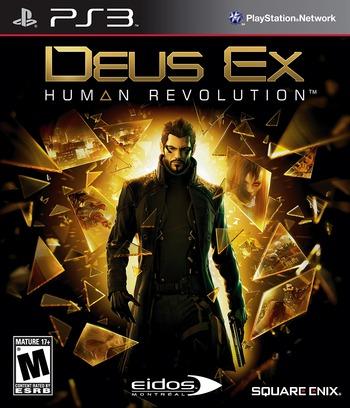 Deus Ex: Human Revolution PS3 coverM (BLUS30476)