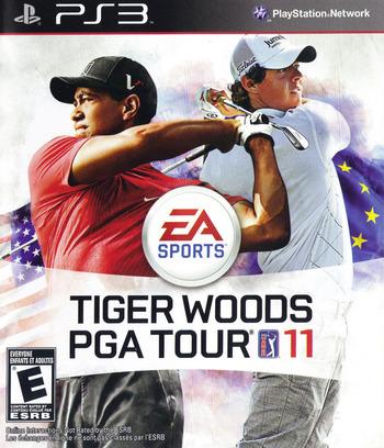 Tiger Woods PGA Tour '11 PS3 coverM (BLUS30489)