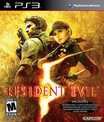 Resident Evil 5: Gold Edition PS3 coverM (BLUS30491)