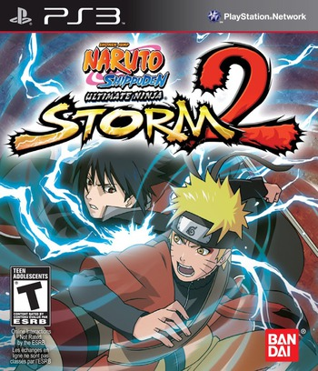 Naruto Shippuden: Ultimate Ninja Storm 2 PS3 coverM (BLUS30495)