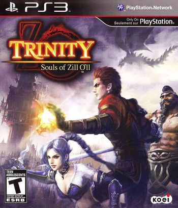 Trinity: Souls of Zill O'll PS3 coverM (BLUS30503)