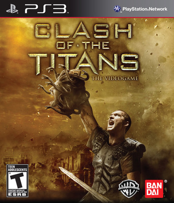 Clash of the Titans: The Video Game PS3 coverM (BLUS30505)