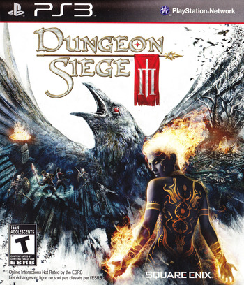 Dungeon Siege III PS3 coverM (BLUS30510)