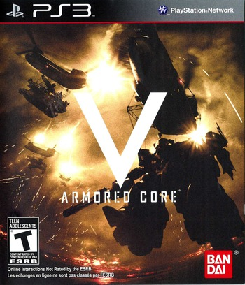 Armored Core V PS3 coverM (BLUS30516)