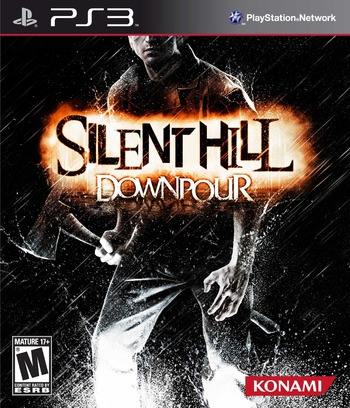 Silent Hill: Downpour PS3 coverM (BLUS30565)
