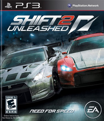 Shift 2: Unleashed PS3 coverM (BLUS30580)
