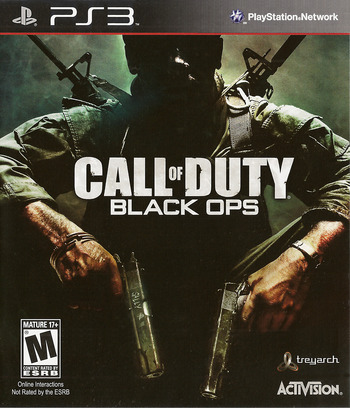 Call of Duty: Black Ops PS3 coverM (BLUS30591)