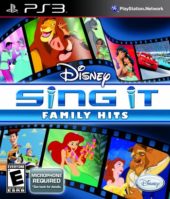 Disney Sing It: Family Hits PS3 coverM (BLUS30601)