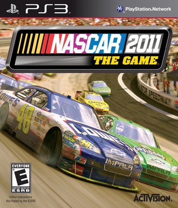 NASCAR The Game 2011 PS3 coverM (BLUS30604)