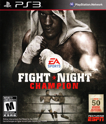 Fight Night Champion PS3 coverM (BLUS30608)