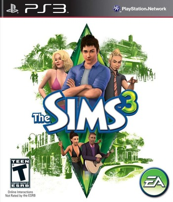 The Sims 3 PS3 coverM (BLUS30609)