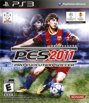 Pro Evolution Soccer 2011 PS3 coverM (BLUS30610)