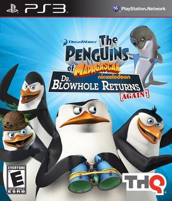 Penguins of Madagascar: Dr. Blowhole Returns - Again PS3 coverM (BLUS30616)