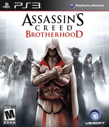Assassin's Creed: Brotherhood PS3 coverM (BLUS30637)