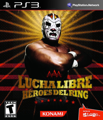 Lucha Libre AAA Heroes del Ring PS3 coverM (BLUS30640)