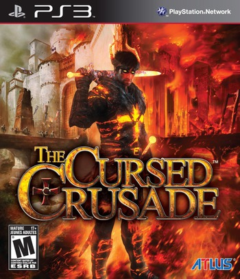 The Cursed Crusade PS3 coverM (BLUS30641)