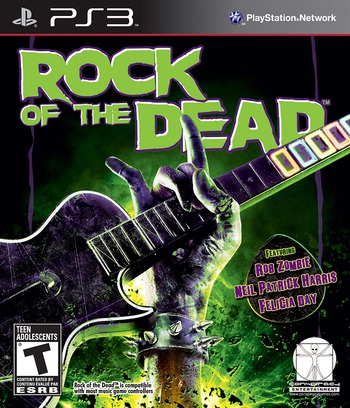 Rock of the Dead PS3 coverM (BLUS30658)