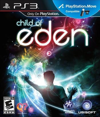 Child of Eden PS3 coverM (BLUS30669)