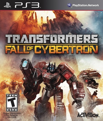 Transformers: Fall of Cybertron PS3 coverM (BLUS30681)