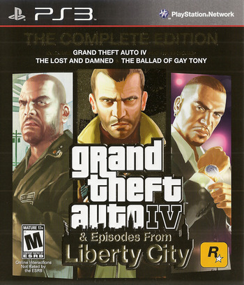 Grand Theft Auto IV: The Complete Edition PS3 coverM (BLUS30682)