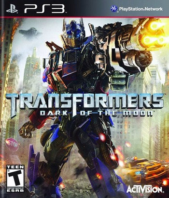 Transformers: Dark of the Moon PS3 coverM (BLUS30709)