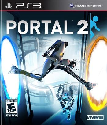 Portal 2 PS3 coverM (BLUS30732)