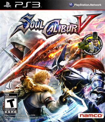 SoulCalibur V PS3 coverM (BLUS30736)