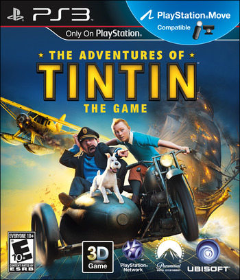 The Adventures of Tintin: The Game PS3 coverM (BLUS30747)