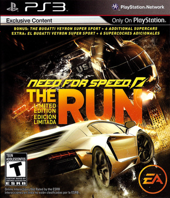 Need for Speed: The Run PS3 coverM (BLUS30757)