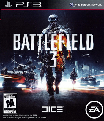 Battlefield 3 PS3 coverM (BLUS30762)