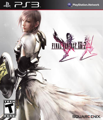 Final Fantasy XIII-2 PS3 coverM (BLUS30776)