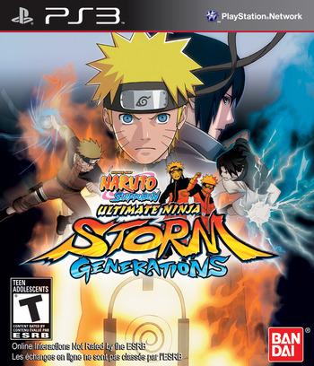 Naruto Shippuden:Ultimate Ninja Storm Generations PS3 coverM (BLUS30792)