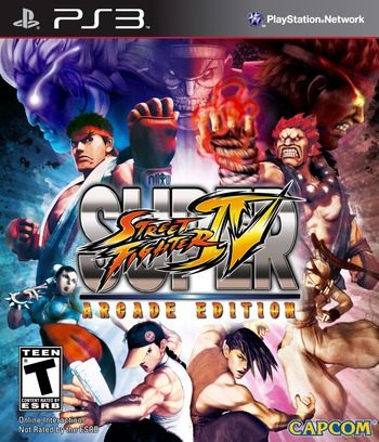 Super Street Fighter IV : Arcade Edition PS3 coverM (BLUS30793)