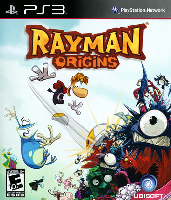 Rayman Origins PS3 coverM (BLUS30836)