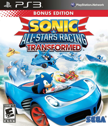 Sonic & All-Stars Racing Transformed PS3 coverM (BLUS30839)