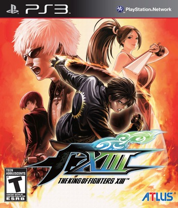 The King of Fighters XIII PS3 coverM (BLUS30845)