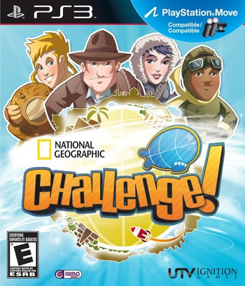 National Geographic Challenge! PS3 coverM (BLUS30851)