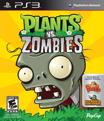 Plants vs. Zombies PS3 coverM (BLUS30852)