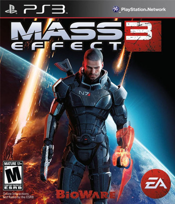 Mass Effect 3 PS3 coverM (BLUS30853)