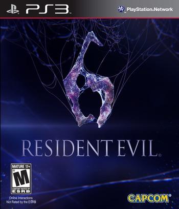 Resident Evil 6 PS3 coverM (BLUS30855)