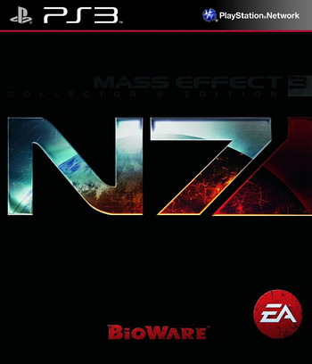 Mass Effect 3 (N7 Collector's Edition) PS3 coverM (BLUS30859)